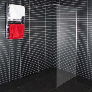 Euroshowers Duschwand Klarglas Walk-in